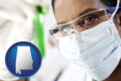 alabama an environmental testing lab technician