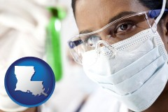 louisiana an environmental testing lab technician