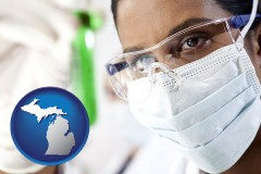 michigan an environmental testing lab technician