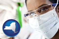 new-york an environmental testing lab technician
